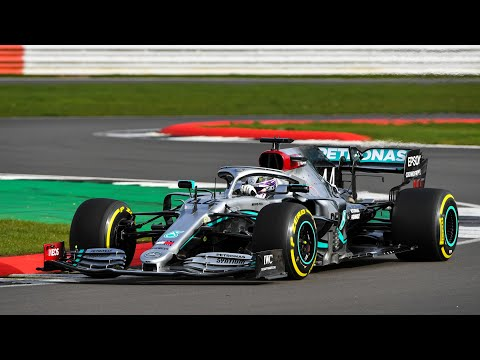 Image: WATCH: Hamilton & Bottas drive Mercedes W11 at Silverstone