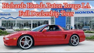 EPIC Honda Dealership Tour Like You Have NEVER Seen Before