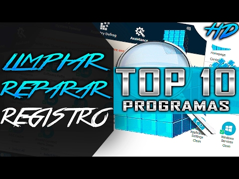 TOP 10 | Mejores programas para LIMPIAR y REPARAR el registro de Windows | GRATIS