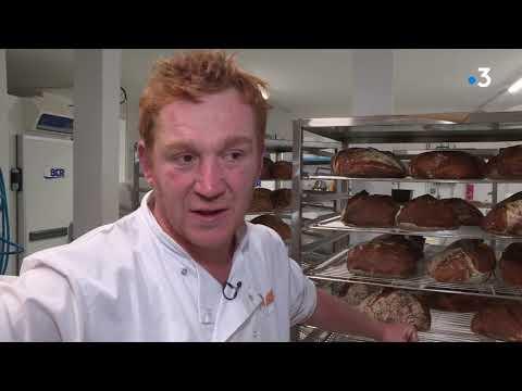 A Limoges, un ancien journaliste reconverti en boulanger bio