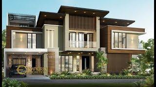 Video Desain Rumah Hook Modern 2 Lantai Ibu Emil di  Jakarta Utara