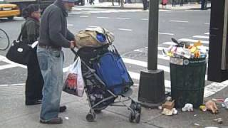 MAja & Cojack Recording Bum hustle in New York City