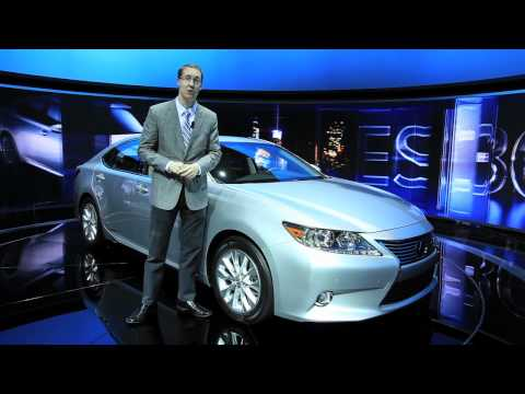 2013 Lexus ES 300H - 2012 New York Auto Show