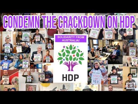 Condemn the Turkish arrest of HDP members