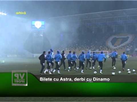 Bilete cu Astra, derbi cu Dinamo