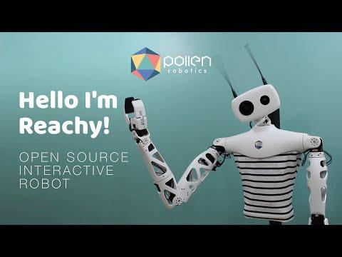 Hello I'm Reachy, presentation video