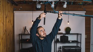 How to Set Up an Overhead Boom Mic