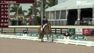 Tanya Strasser-Shostak Wins Young Rider Team Test at #AdequanGDF