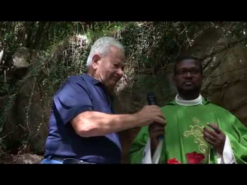 SANREMO: LA SUGGESTIVA BENEDIZIONE DELLA MADONNA DELLE ACQUE NERE