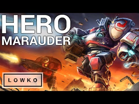 StarCraft 2: THE HERO MARAUDER!