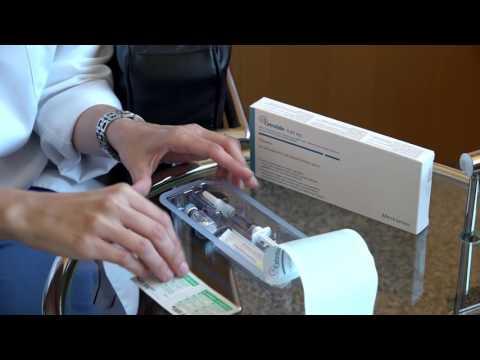 Cetrotide®: Zubereitung und Verabreichung des Medikaments.