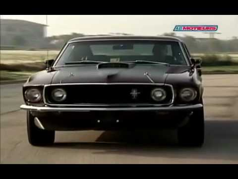 Download American Muscle Car - Mustang Mach 1 - French AB MOTEURS HD Mp4 3GP Video and MP3