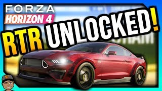 Forza Horizon 4 How To Unlock The RTR Spec 5 Mustang!