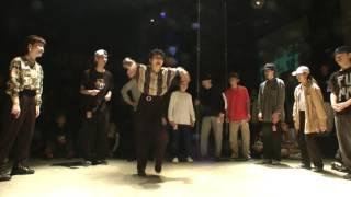 LOCK H circle / FUNKY CHICKEN 2017 DANCE BATTLE