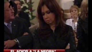 Cristina En El Velorio De Mercedes Sosa 5/5 C5N