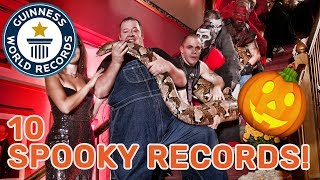 10 Halloween related Guinness world records