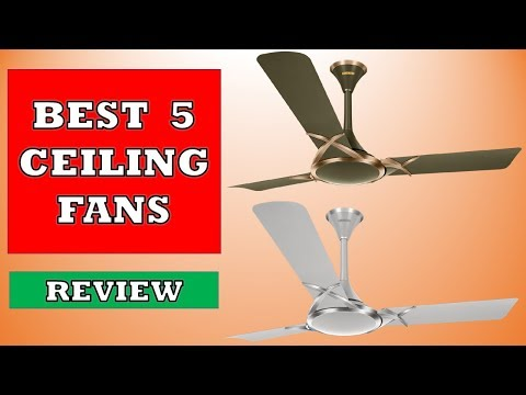 Best 5 Ceiling Fans in 2019 - Review