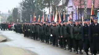 Uroczystości pogrzebowe płk poż. Tadeusza Kubita w Krośnie