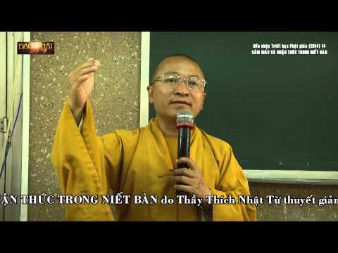 Dẫn nhập Triết học Phật giáo (2014) 14: Cảm giác và nhận thức trong Niết Bàn