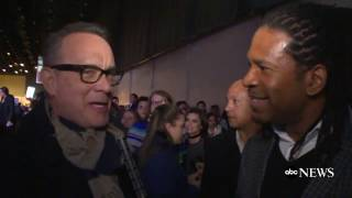 Tom Hanks Reacts to President Obama