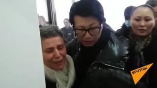 Освобождение Лилии Рах из зала суда