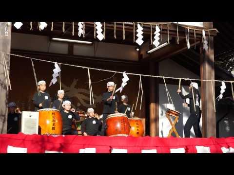 代田小学校生和太鼓演奏