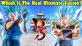 SSB Gogeta Vs. SSB Vegito! Xenoverse 2 DLC 8 Character Test, Which Fusion Is The Best?