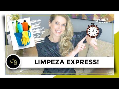 LIMPEZA E ORGANIZAÇÃO DA CASA EXPRESS