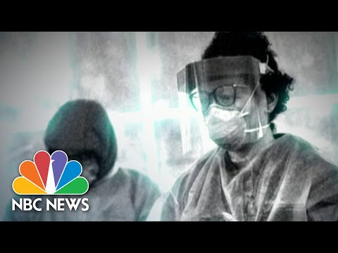 Healthcare Workers In Coronavirus Hotspots Face A Shortage of Staff | NBC Nightly News