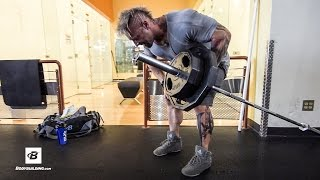 Upper Back & Calves Workout | Day 26 | Kris Gethin's 8-Week Hardcore Training Program by Bodybuilding.com