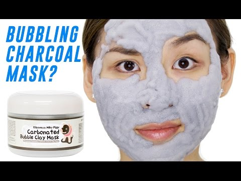 Carbonated Bubble Clay Mask Review – TINA TRIES IT