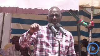 Speaking at Kiwawa boys secondary school in West Pokot county