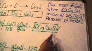 Limiting Reagents Part 2