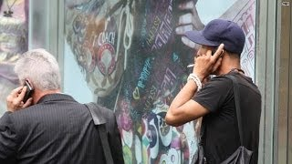 How to handle that rude person talking on the cell phone