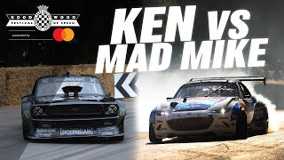 Ken Block V Mad Mike On The Goodwood Hill