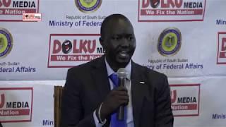 Final Debate on Federalism to South Sudan: Juba