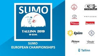 European Sumo Championships 2019 Day 3 - Men and Women