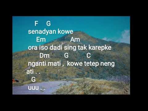 Chord   lirik lagu tetep neng ati guyon waton feat om wawes