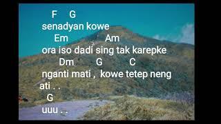 Chord & Lirik Lagu Tetep Neng Ati GUYON WATON Feat OM WAWES