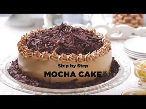 Video Step by Step Membuat Mocha Cake