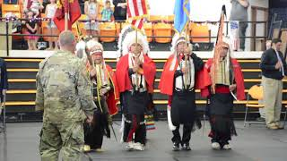 Presentation of Colors by the  Kiowa Black Leggings Society