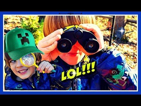 Outdoor Adventure 8X Magnification Binoculars INNOCHEER Kids [SPYING on NEIGHBORS???]