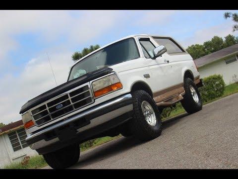 Video of '96 Bronco - PT28