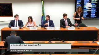 Educação - Apresentação do relatório da comissão externa sobre os trabalhos do Ministério da Educação - None
