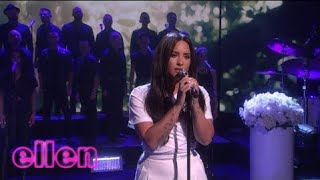 Demi Lovato   Tell Me You Love Me (Live On The Ellen Show 2018) HD