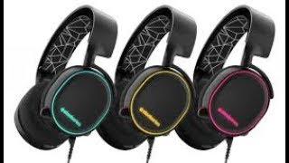 SteelSeries Arctis 5 Gaming Headset - Test: RGB-Headset mit DTS-Sound und top Mikrofon