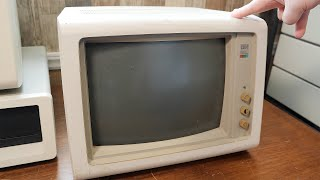 Cleaning & Testing an IBM 5154 CRT Monitor
