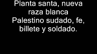 Divididos - Indio Deja El Mezcal (Con Letra)