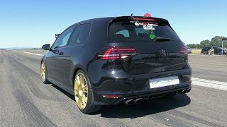 600HP VW Golf 7R with Audi RS3 5-Cylinder TFSI Engine!