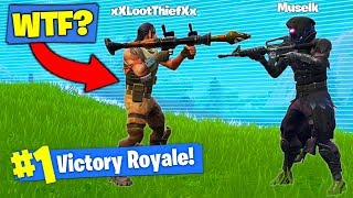 The WORST TEAMMATE In Fortnite Battle Royale!
